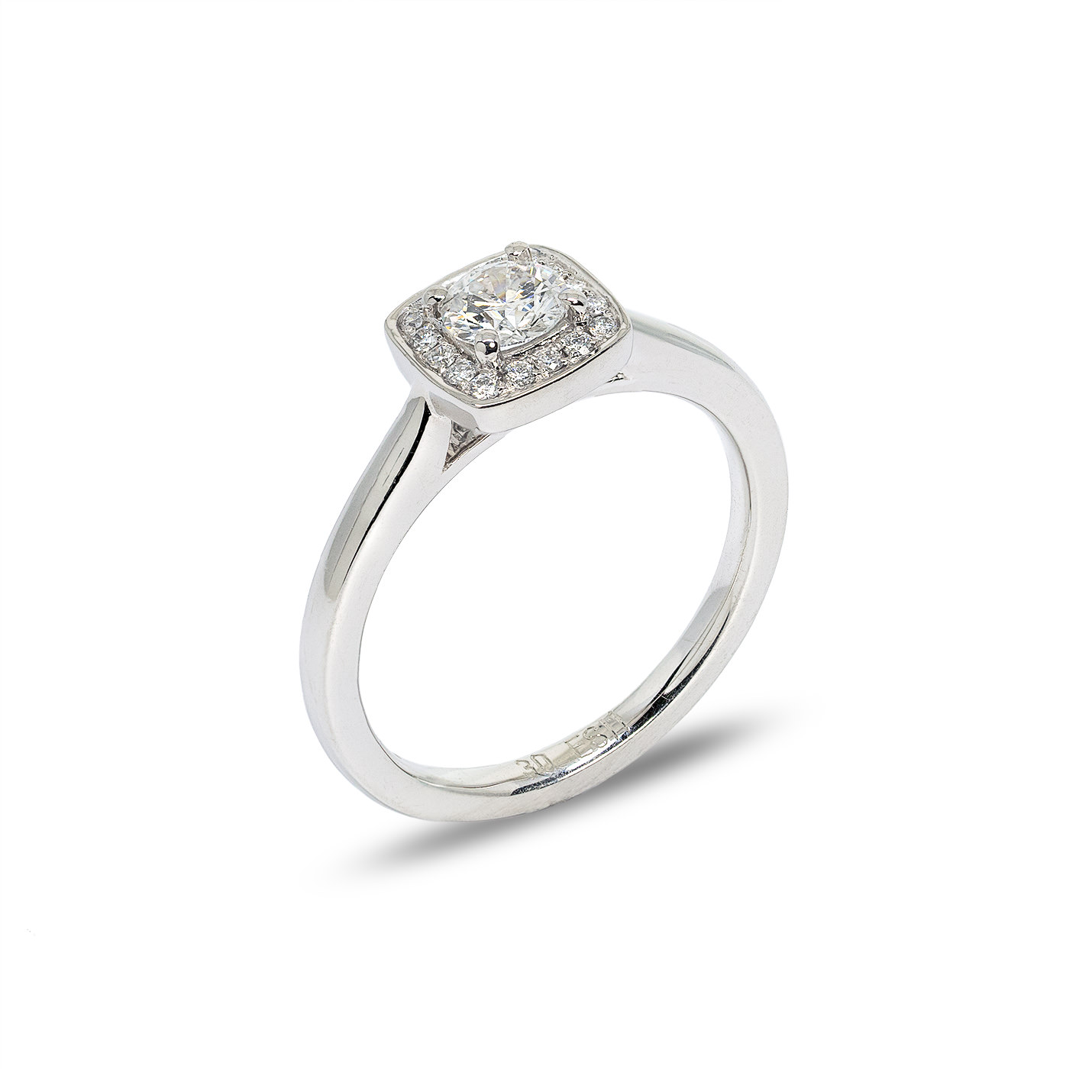 """Vita"" Diamond Engagement Ring - Shop Now at Murphy Jewellers"