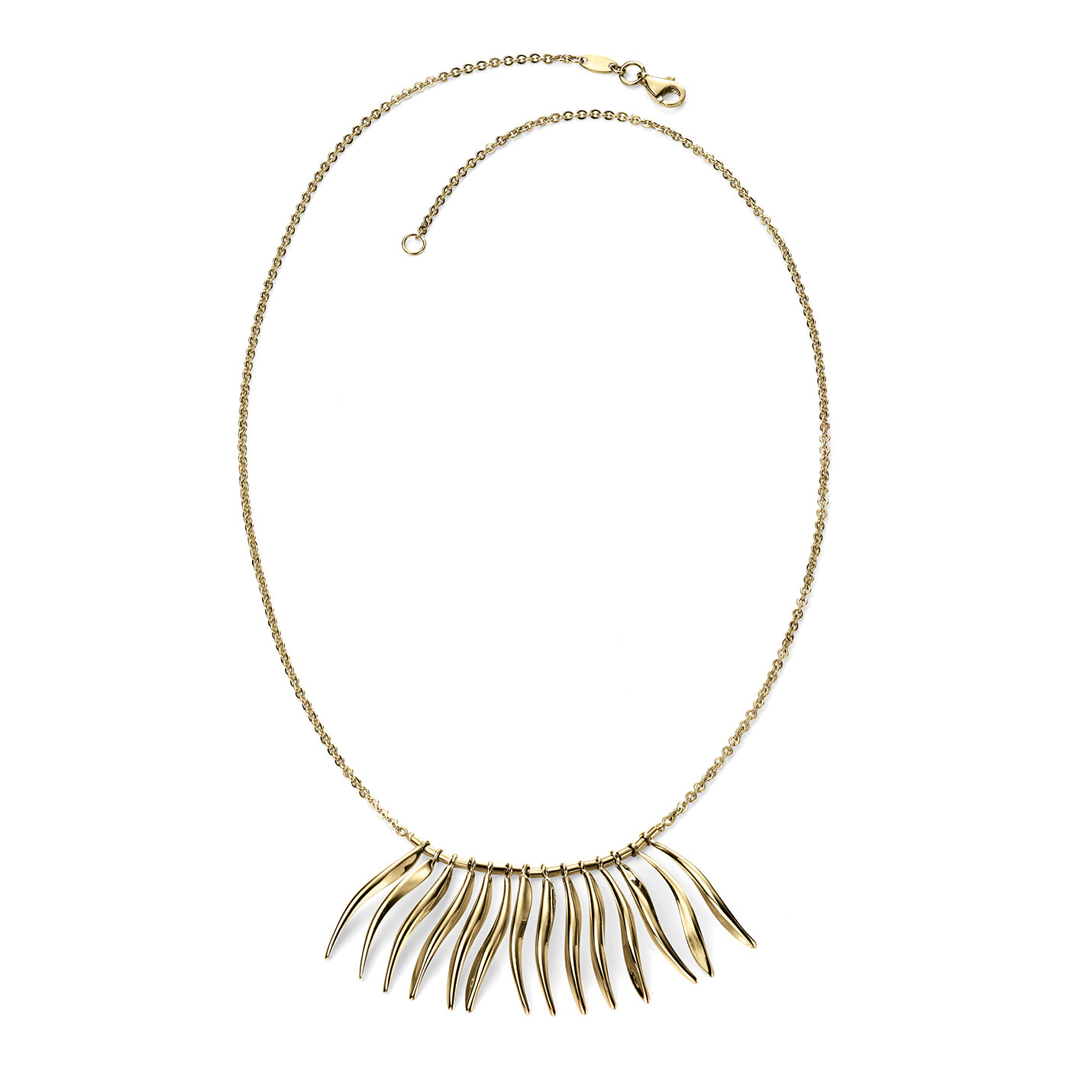 Multi-Wave Gold Necklace | Murphy Jewellers of Kilkenny