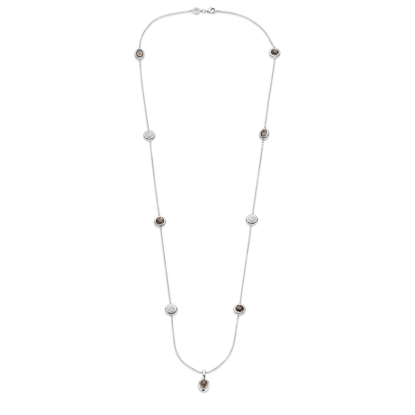 Ti Sento Grey Chain Necklace