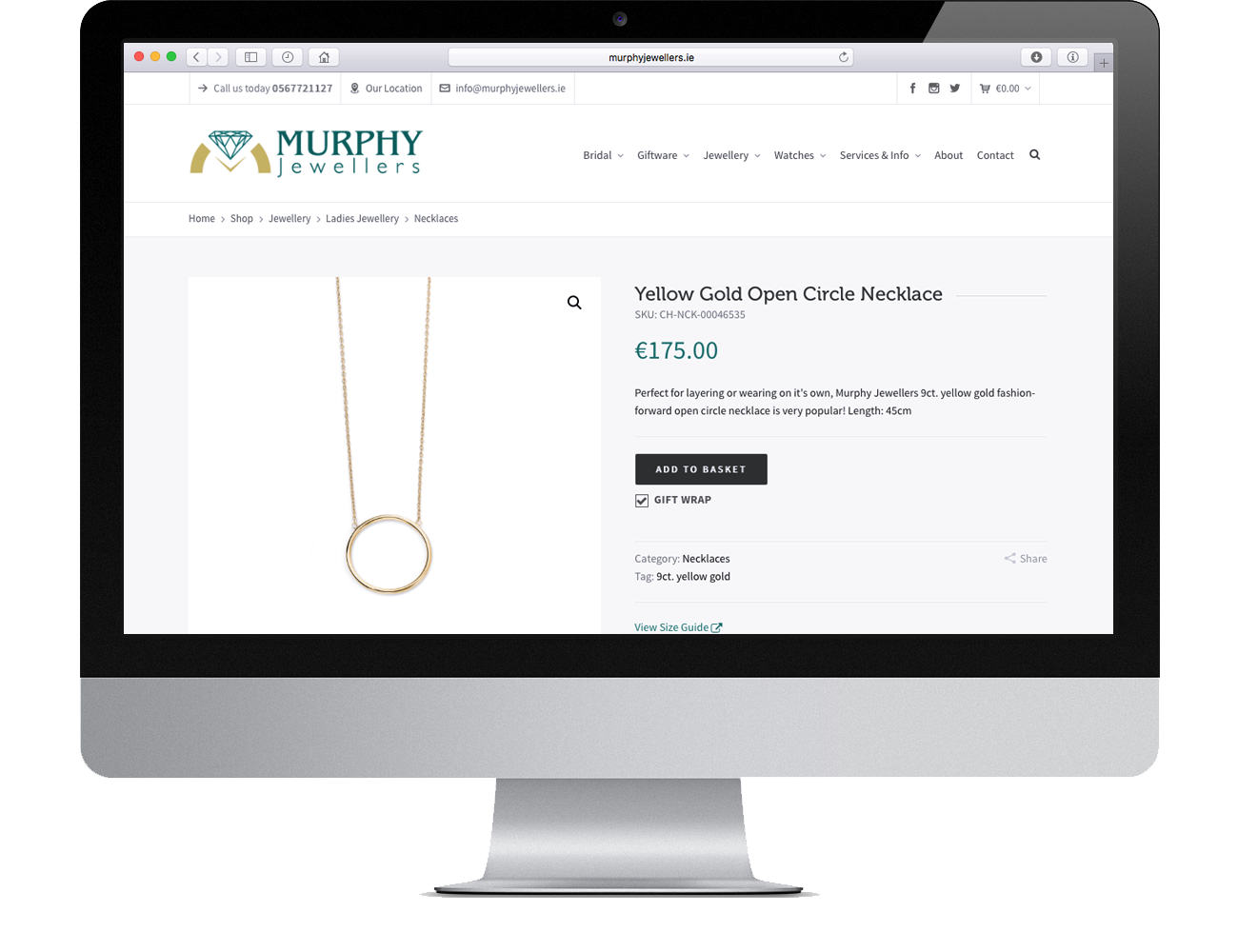 Click & Collect at MurphyJewellers.ie