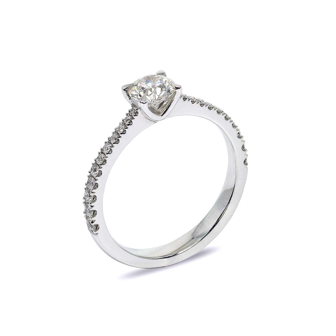 "The Stunning ""Marie"" Diamond Engagement Ring 