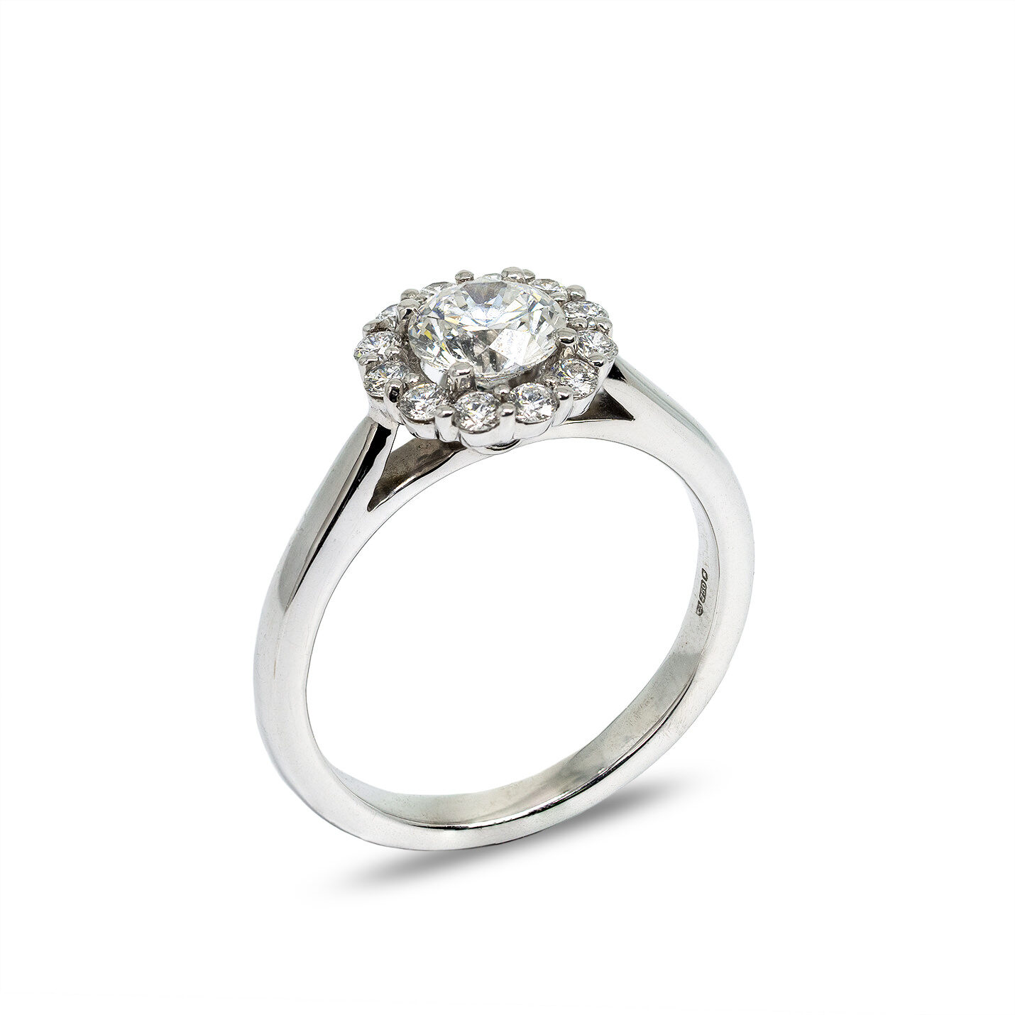 Diamond Engagement Rings | Halo Engagement Rings | MuprhyJewellers.ie