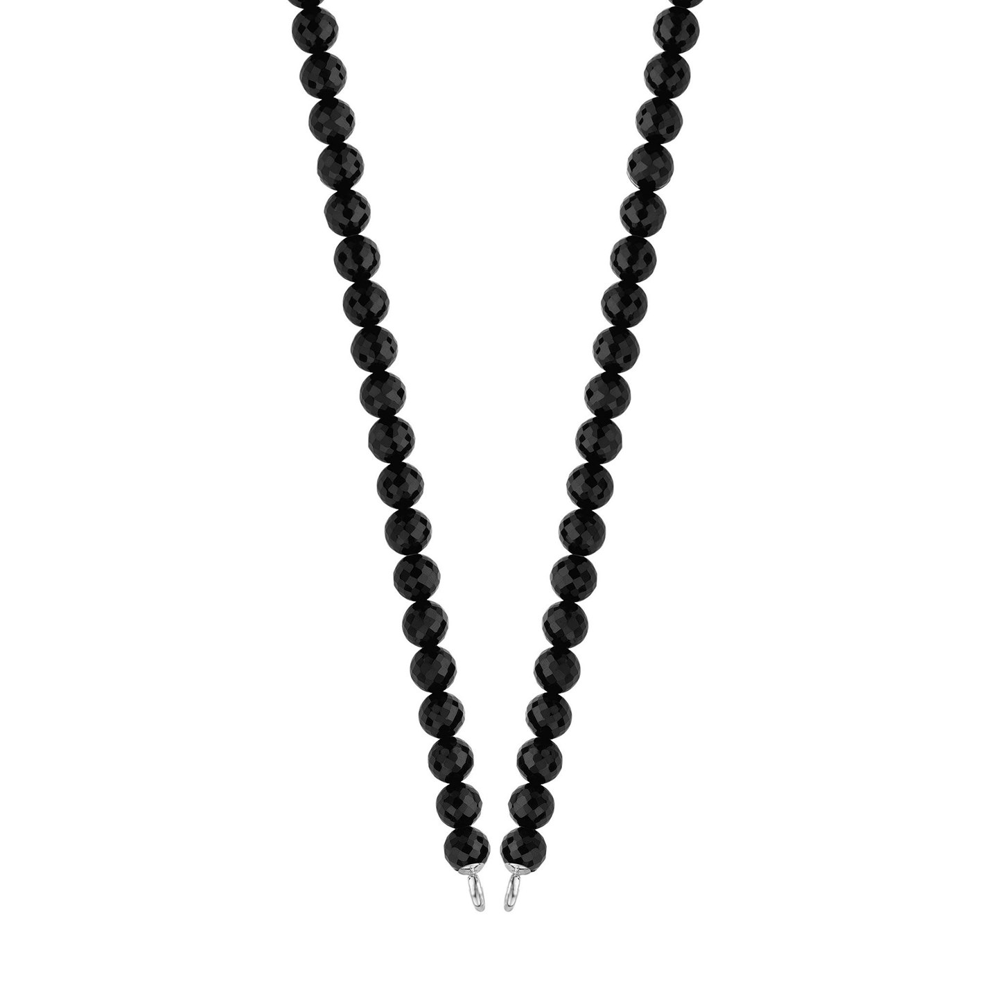 full view necklace product hq black rectangle onyx