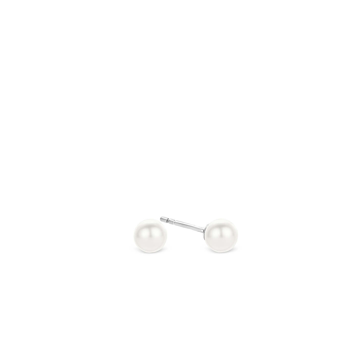 Ti Sento Pearl Stud Earrings
