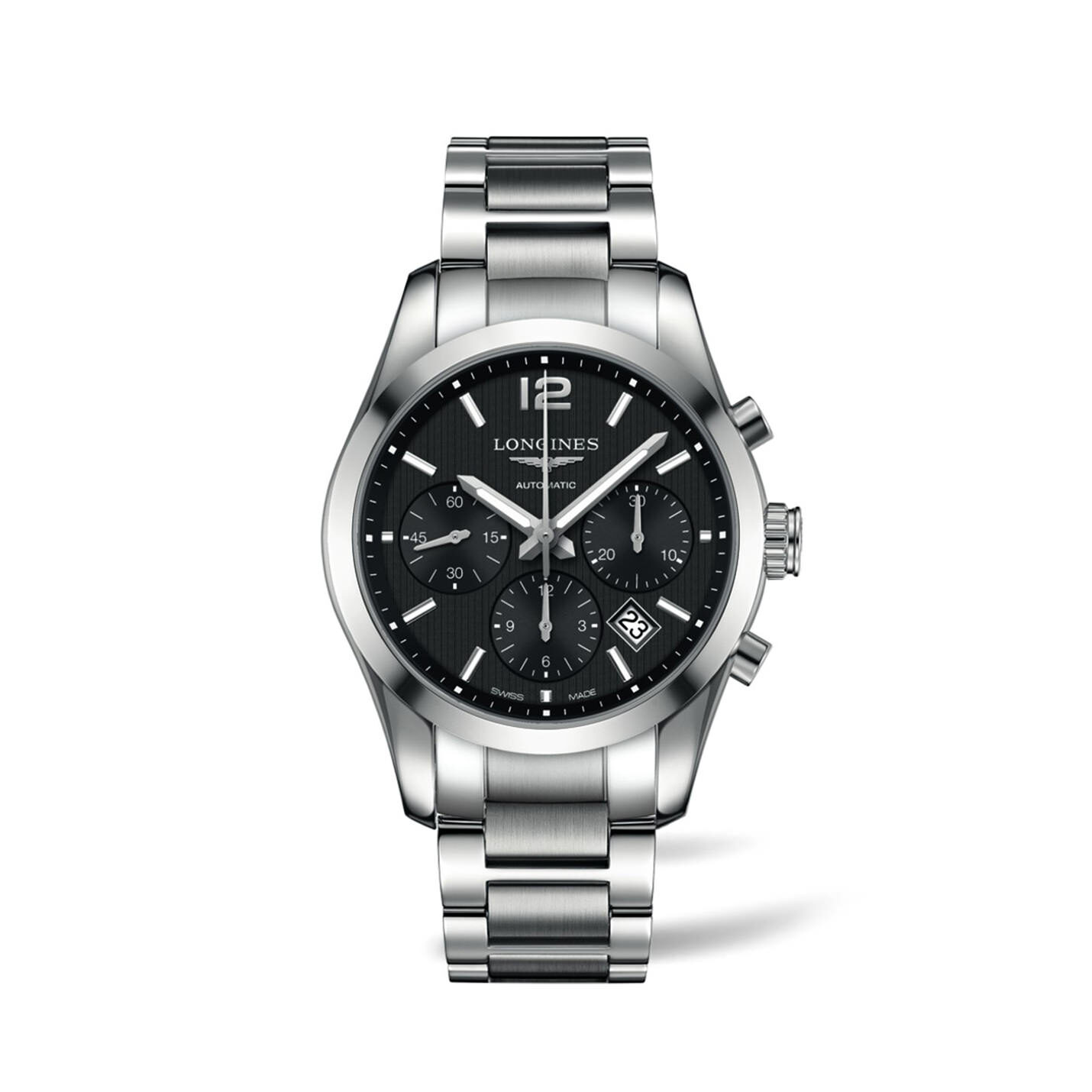 Longines Conquest Classic Collection – Black Dial Chronograph