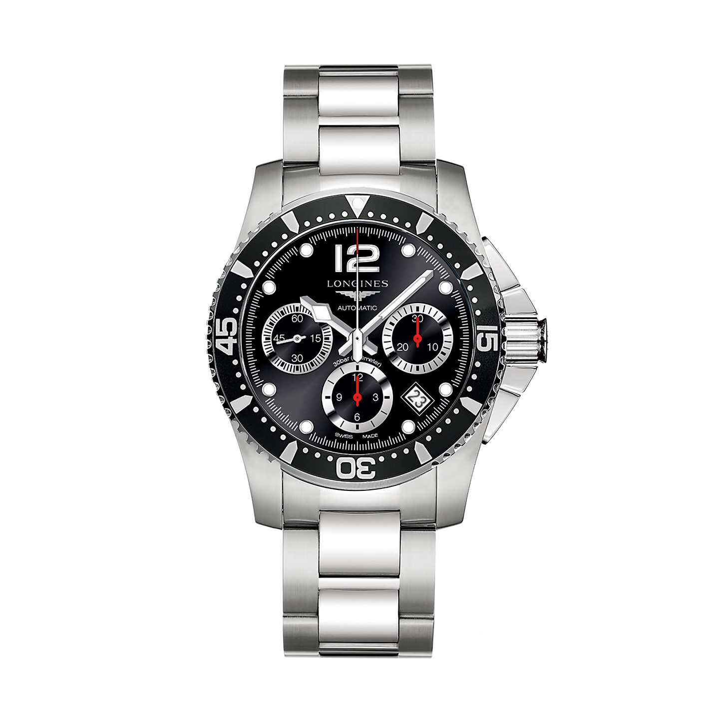 Longines Hydroconquest Collection – Stainless Steel Chronograph