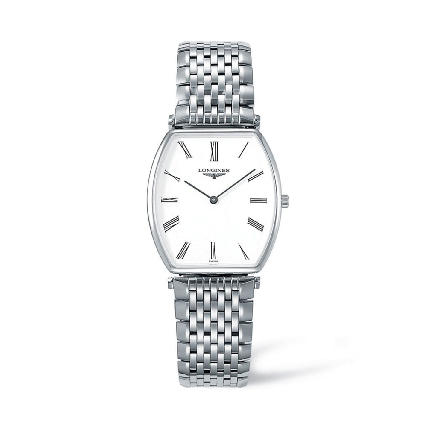 Longines La Grande Classique Collection – Stainless Steel Watch – Rectangle