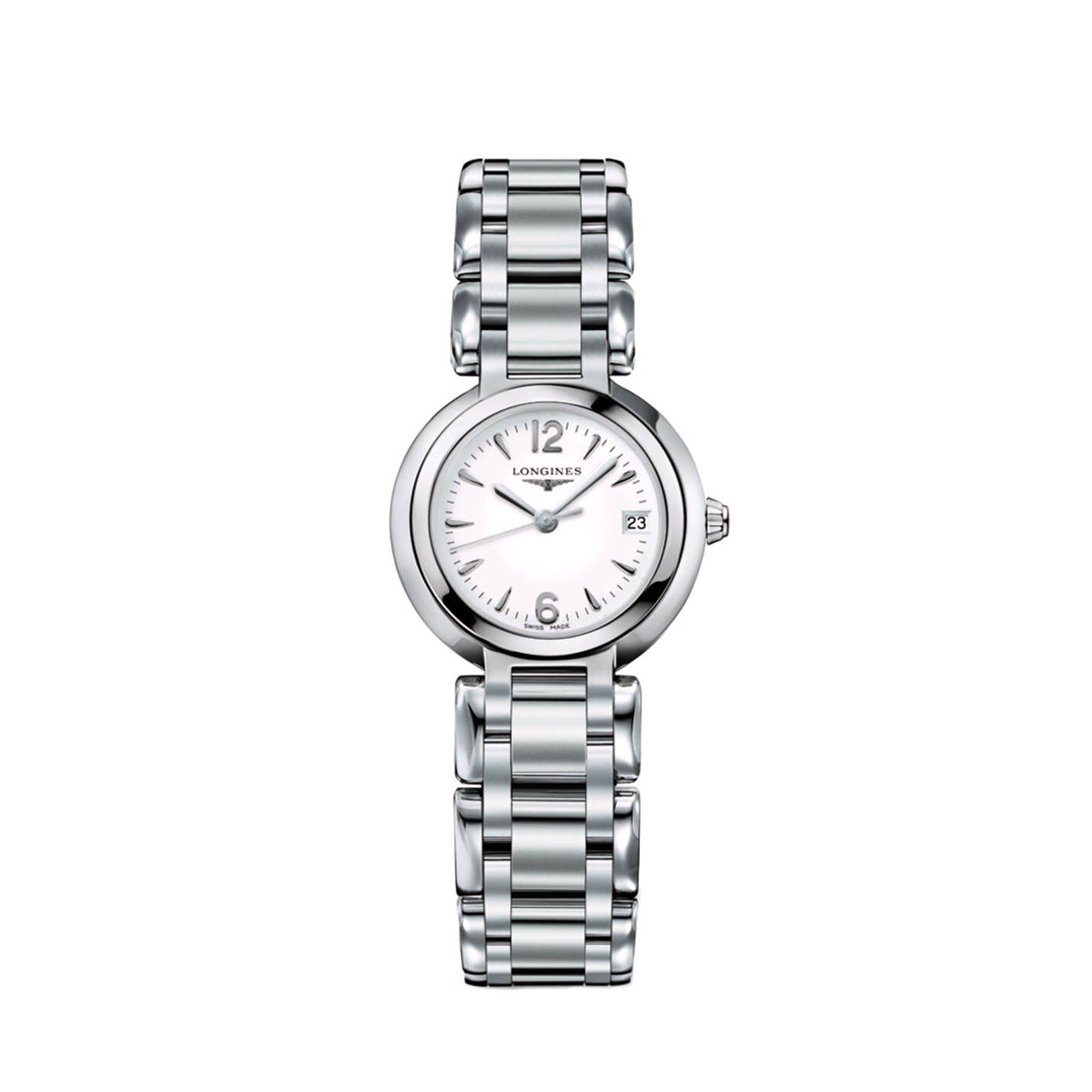 Longines PrimaLuna Collection – Ladies Stainless Steel Watch