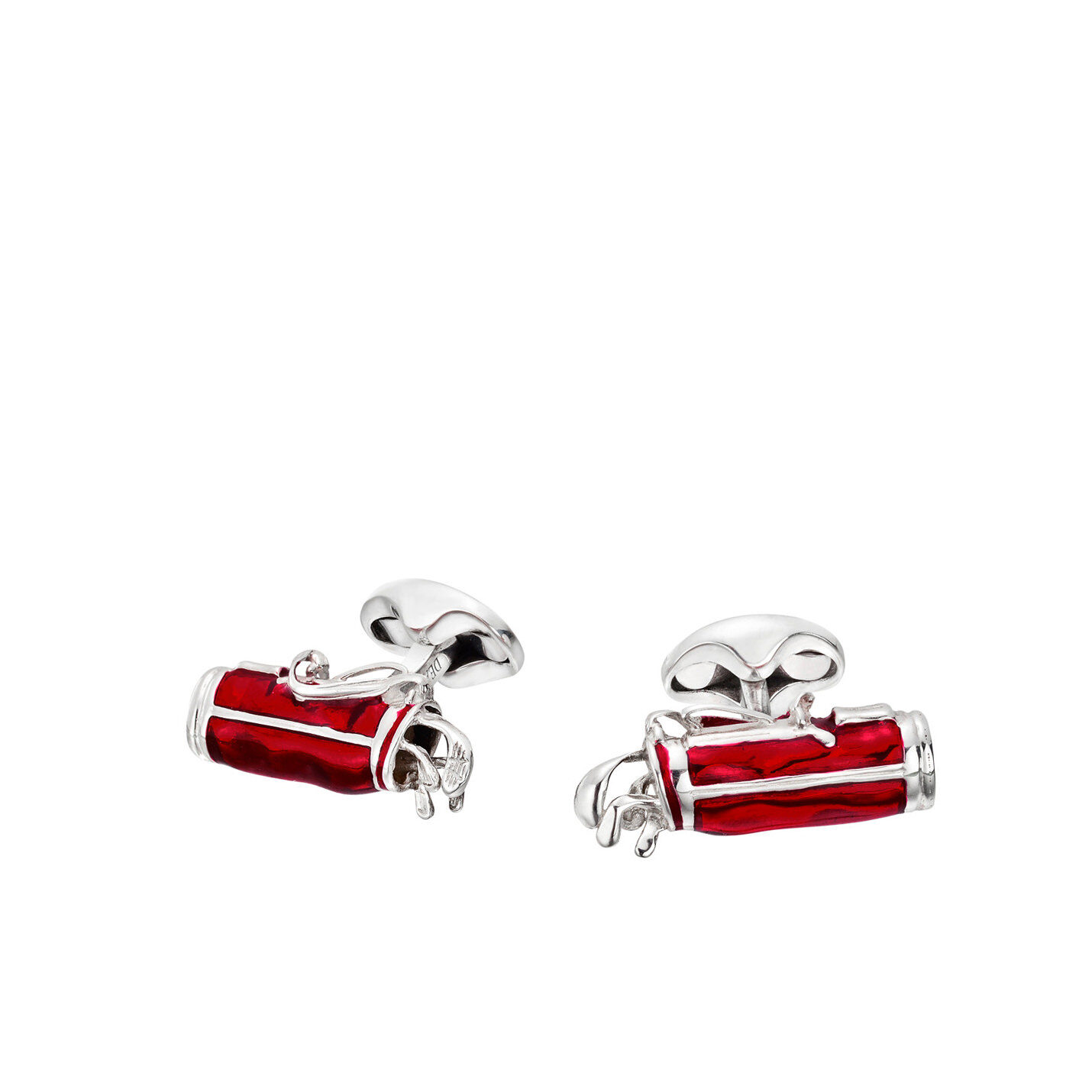 Deakin & Francis Sterling Silver Golf Bag Cufflinks