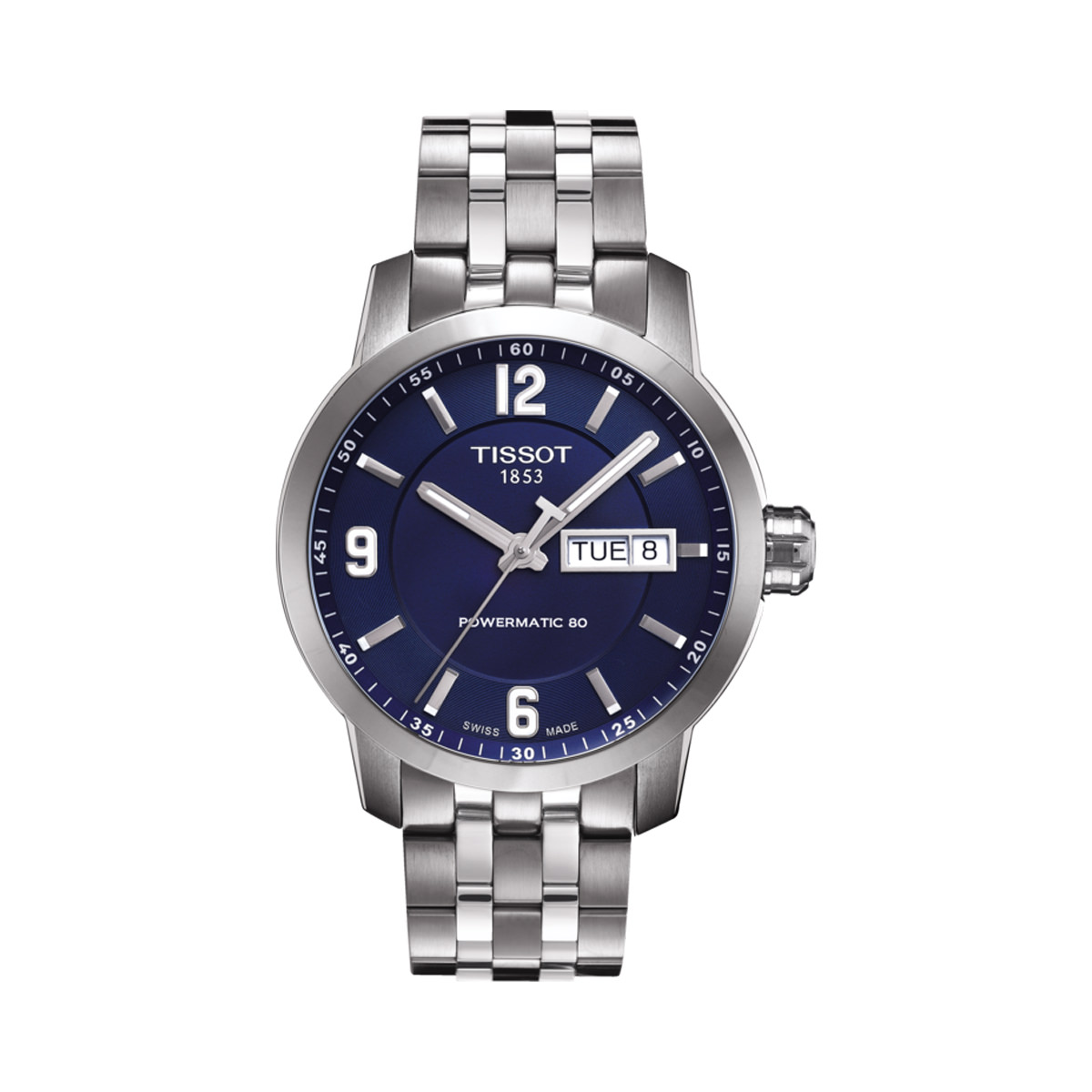 Tissot PRC200 PowerMatic 80 Blue Dial Watch