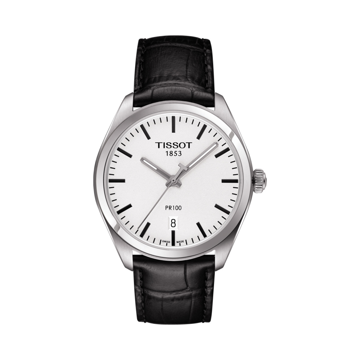 Tissot T-Classic PR100 Black Strap Watch
