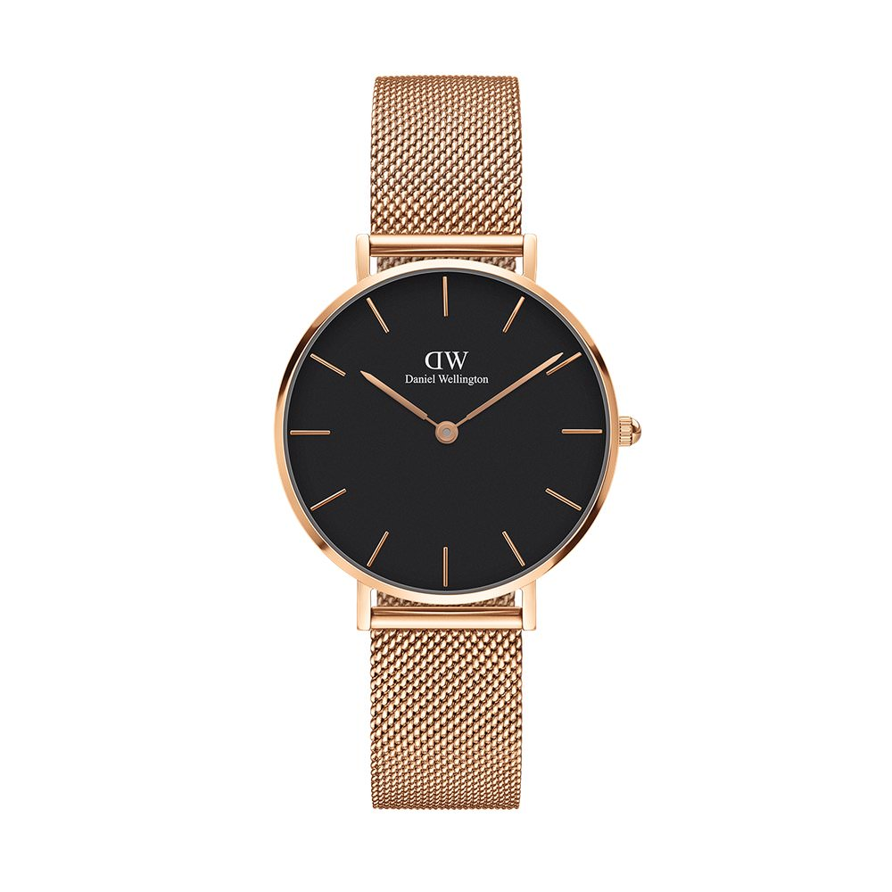 Daniel Wellington Watches | Petite Black Melrose