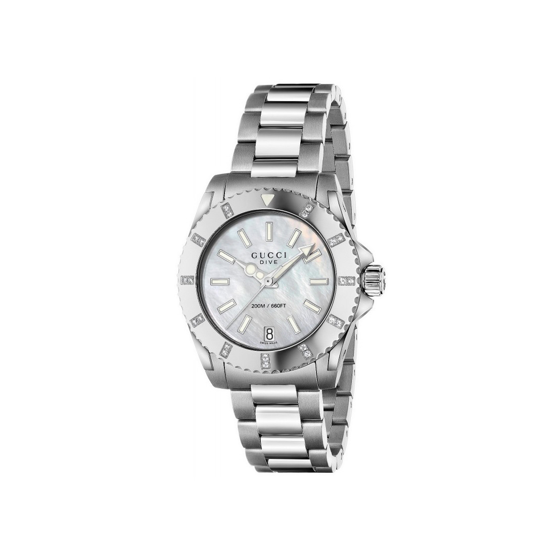 1c06795dc Gucci Dive Stainless Steel & Diamond Watch | Murphy Jewellers of ...