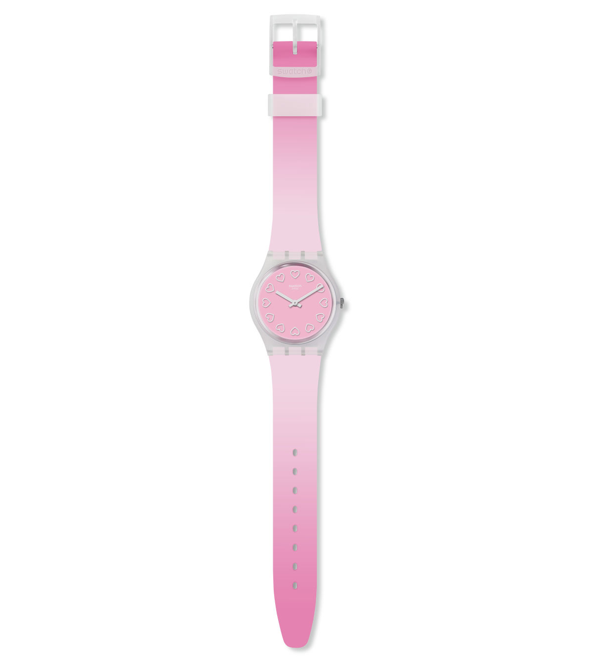 All Pink Swatch Watch