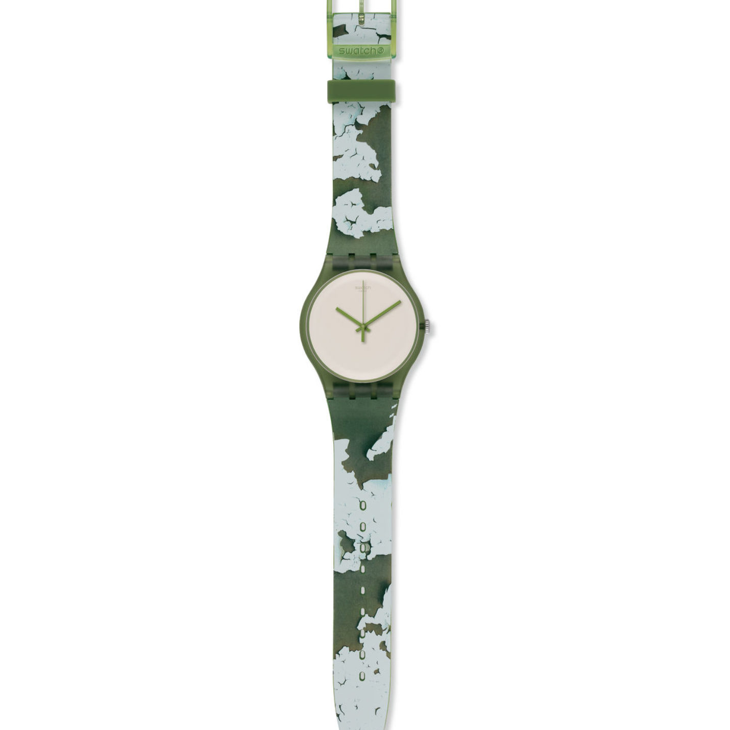 Swatch ROUGH GREEN Watch