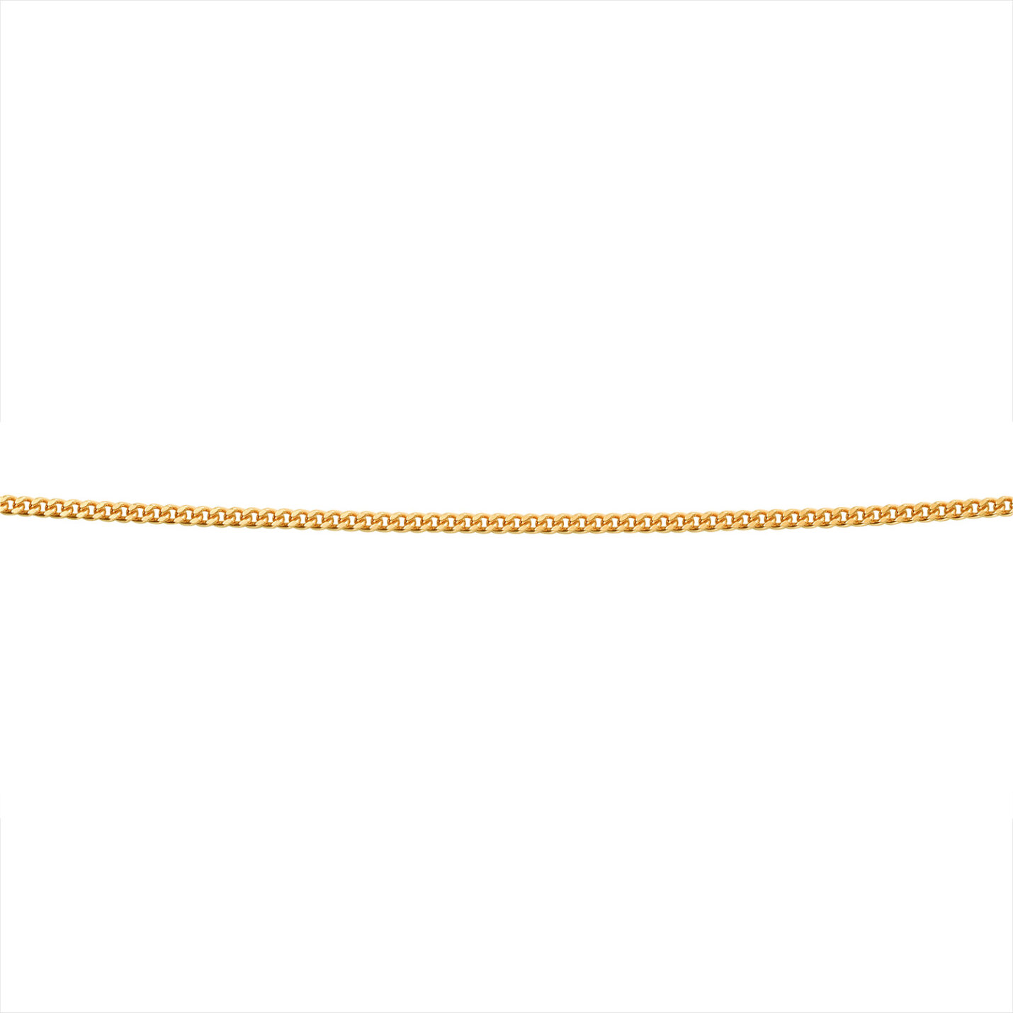 9ct. Yellow Gold Gents Curb Chain