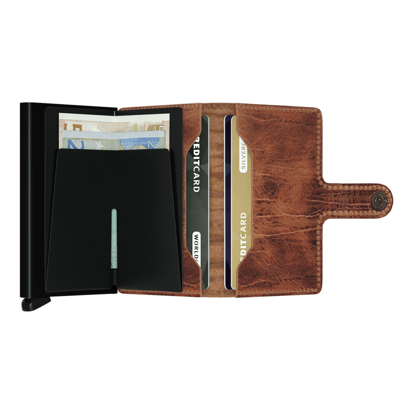 Secrid Miniwallet | Dutch Martin Whiskey Leather