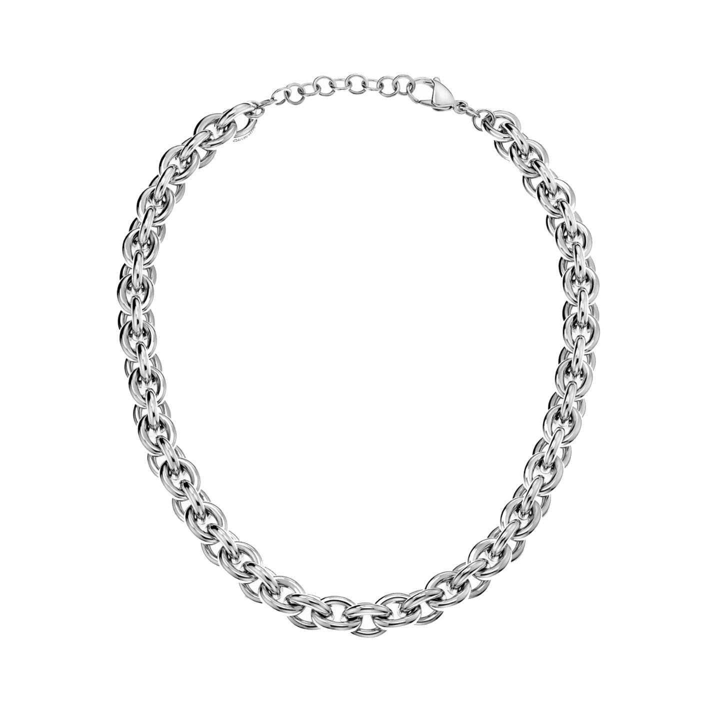 Calvin Klein Statement Steel Link Necklace