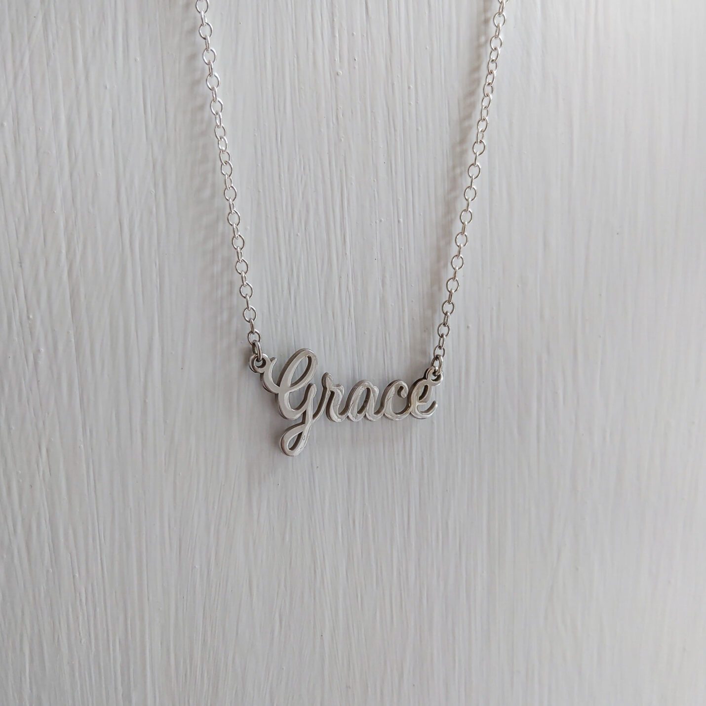 Custom Made Name Necklace | Script Name Necklaces @ Murphy Jewellers